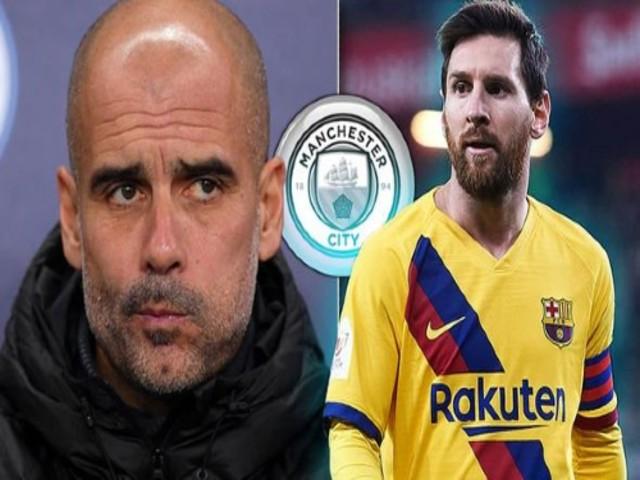 Barca rối như tơ vò: HLV Guardiola úp mở khả năng Messi đến Man City - 1