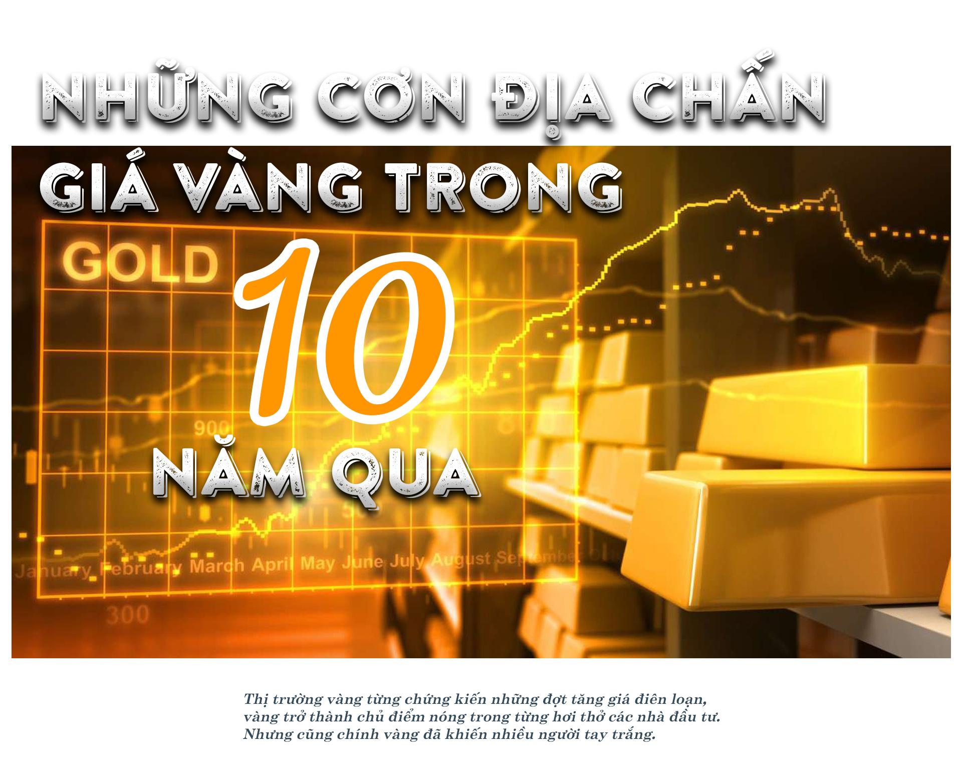"""""""Cơn điên"""" của vàng tái diễn: 55, 60, 80 triệu/lượng,..đâu là mốc tiếp theo của vàng? - 1"""