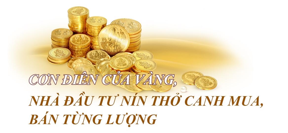 """""""Cơn điên"""" của vàng tái diễn: 55, 60, 80 triệu/lượng,..đâu là mốc tiếp theo của vàng? - 2"""