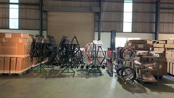 Tịch thu 3.590 xe đạp Trung Quốc giả mạo xuất xứ Việt Nam xuất khẩu đi Mỹ - 1