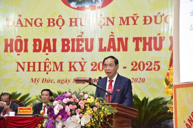 Bí thư Hà Nội: Đưa Đồng Tâm thành xã nông thôn mới vào 2021 - 1