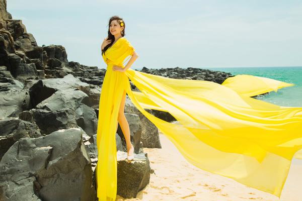 Kim Thanh Thảo đẹp cuốn hút trong bộ ảnh lấy ý tưởng từ thần vệ nữ - 1