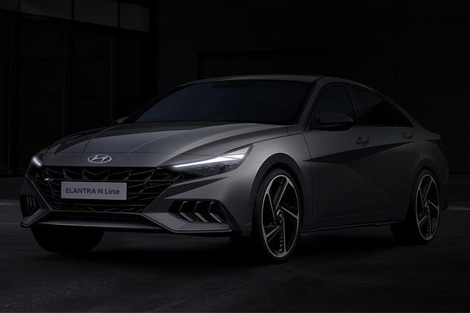 Vén màn thiết kế Hyundai Elantra N Line 2021, năng động và thể thao hơn - 1