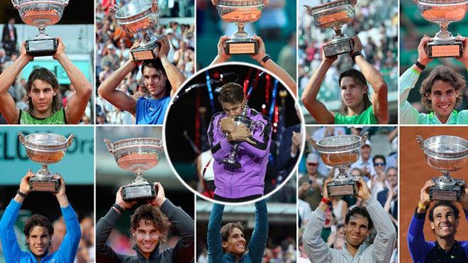 """Tin thể thao HOT 9/7: Nadal sẽ không """"phát điên"""" khi san bằng kỷ lục của Federer - 1"""