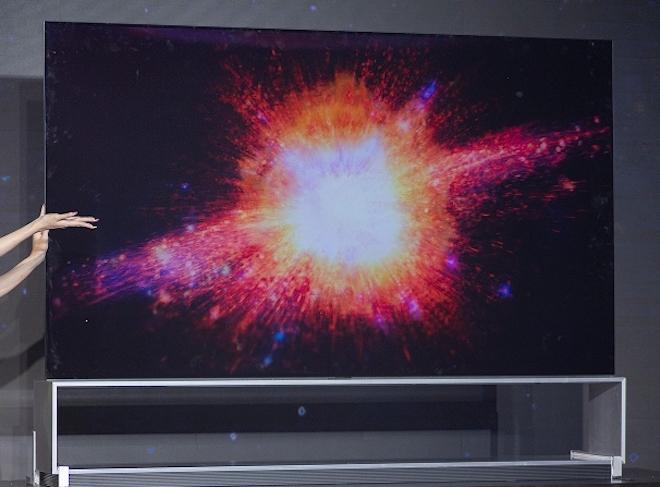 LG giới thiệu TV OLED 8K tích hợp trợ lý ảo, trí tuệ nhân tạo - 1