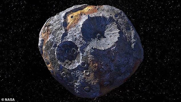 Thông tin mới về việc khám phá tiểu hành tinh chứa kho báu trị giá 10.000 triệu tỉ USD - 1