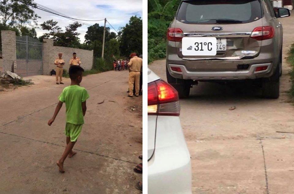 Mới học lái ô tô, nữ tài xế lùi xe bất cẩn khiến 2 học sinh thương vong - 1