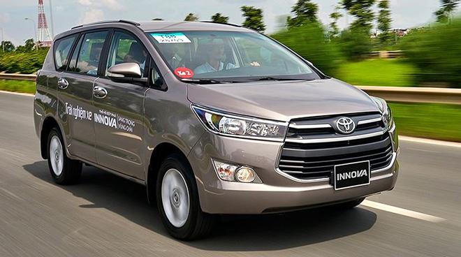 Giá lăn bánh xe Toyota Innova tháng 7/2020 đầy đủ các phiên bản - 1