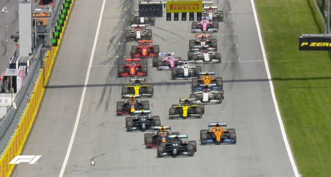 Đua xe F1, chặng Styrian GP: Hamilton trở lại ấn tượng - 1