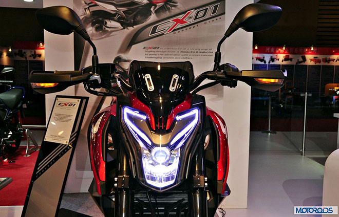 """Honda chuẩn bị tung """"hàng nóng"""" CX-01 - 1"""