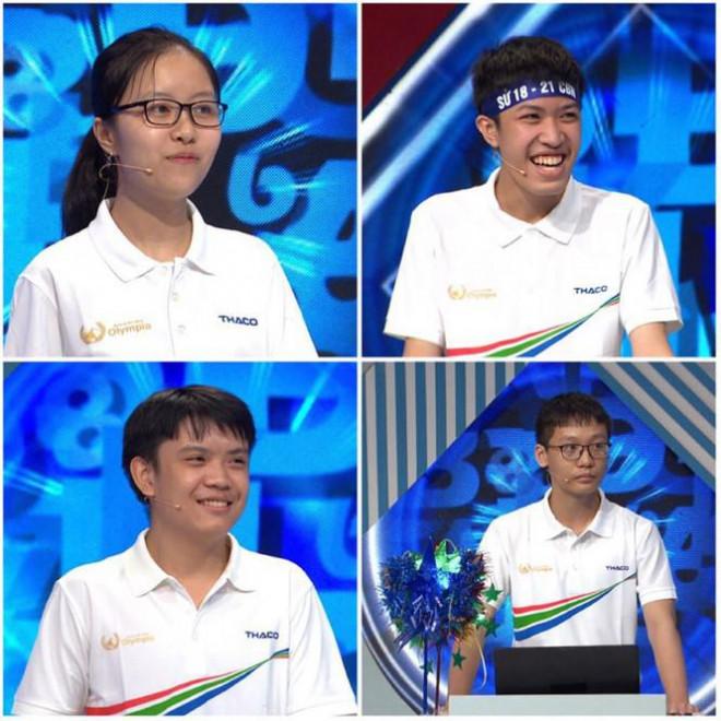 Nam sinh Bắc Ninh thắng tuyệt đối đường đua Olympia - 1