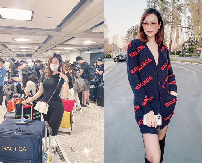 Cách đây 4 ngày, người mẫu Đào Lan Phương đã chia sẻ hình ảnh từ Mỹ về Việt Nam công tác kết hợp thăm hỏi người thân. Hiện tại, người đẹp đang thực hiện cách ly 14 ngàyở ngoại ô Hà Nội để bảo đảm an toàn sức khỏe cho bản thân và cộng đồng.