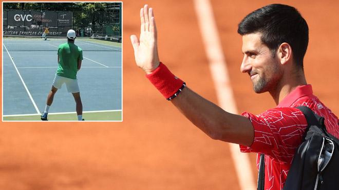 """Djokovic khỏi Covid-19 ra sân đánh trái tay """"thần sầu"""", sẽ tham dự US Open? - 1"""