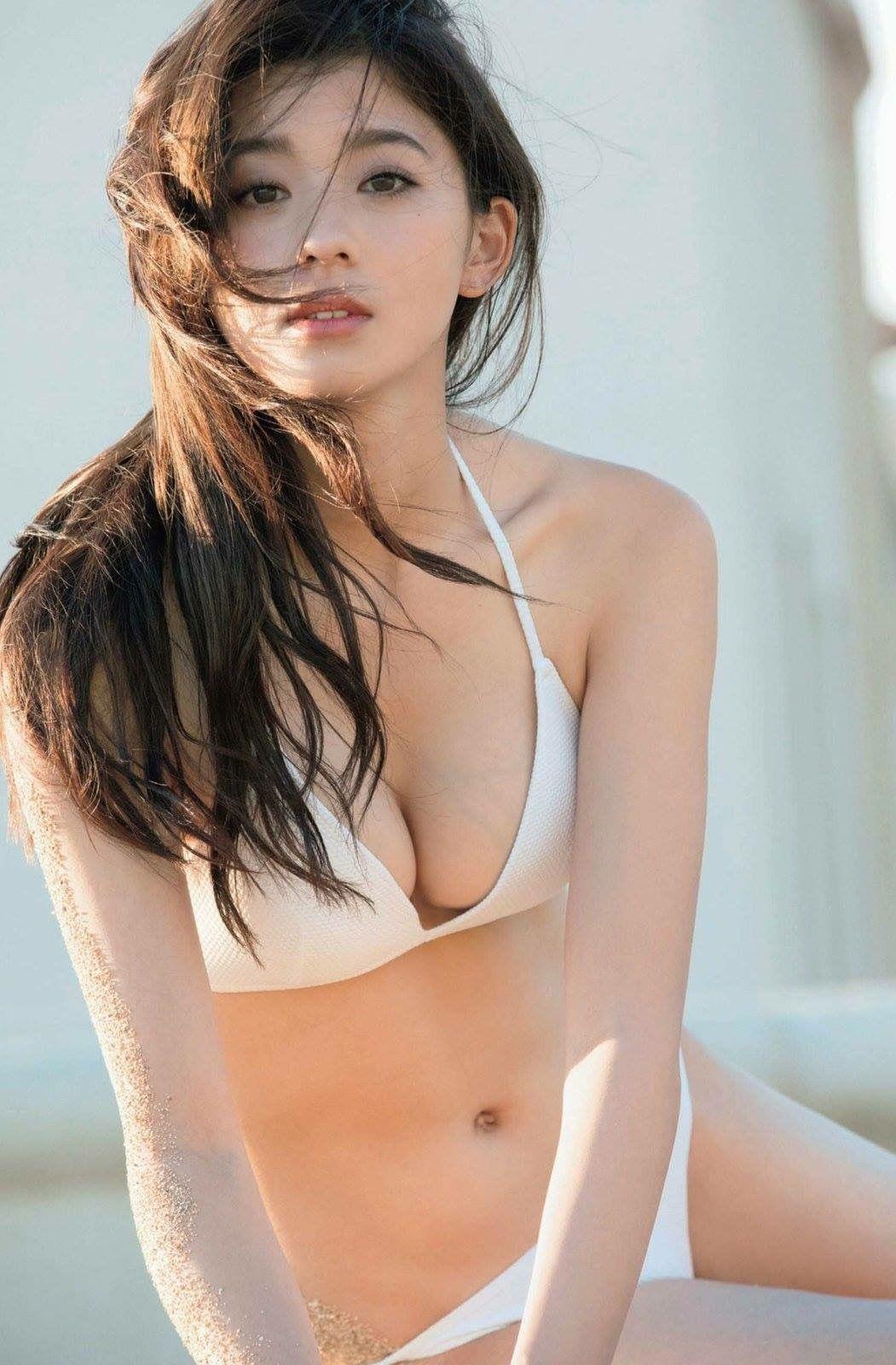 Người mẫu Nhật xinh như bông tuyết trắng - 1