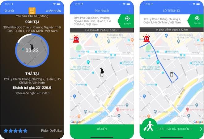Xuất hiện ứng dụng gọi lái xe cho người xỉn, có thể trả giá chuyến đi - 1