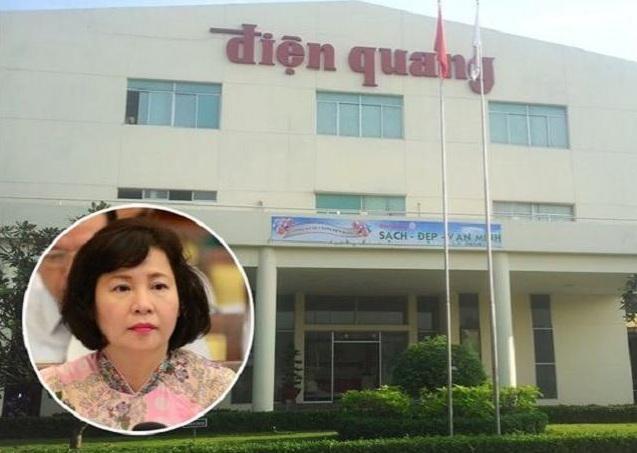 """Tài sản gia đình cựu Thứ trưởng bị truy nã Hồ Thị Kim Thoa """"trồi sụt"""" theo cổ phiếu Điện Quang - 1"""