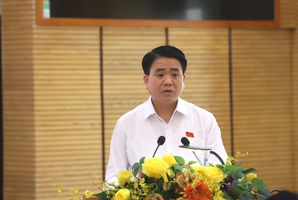 Chủ tịch TP.Hà Nội tiếp xúc cử tri, mong người dân giám sát dự án ở Hồ Gươm - 1