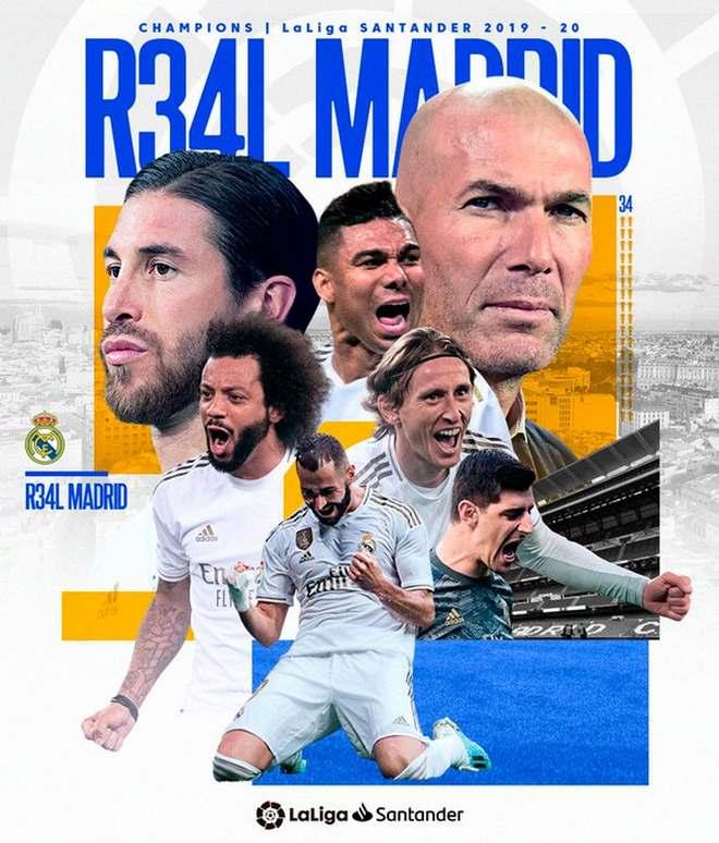 """Real lên ngôi VUA: Kinh ngạc """"ma thuật"""" Zidane & 10 trận thắng liên tiếp - 1"""