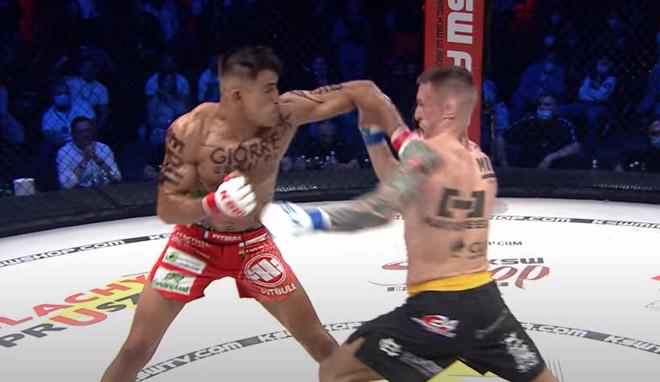"""6 cao thủ MMA nằm đo sàn vì những cú đấm nặng """"ngàn cân"""" - 1"""