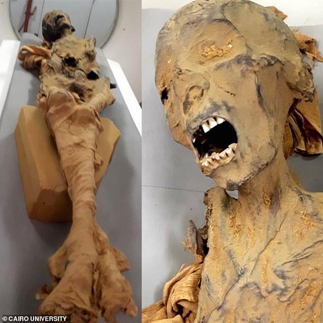 """Bí ẩn xác ướp """"công chúa la hét"""" trong mộ cổ 3.000 năm - 1"""
