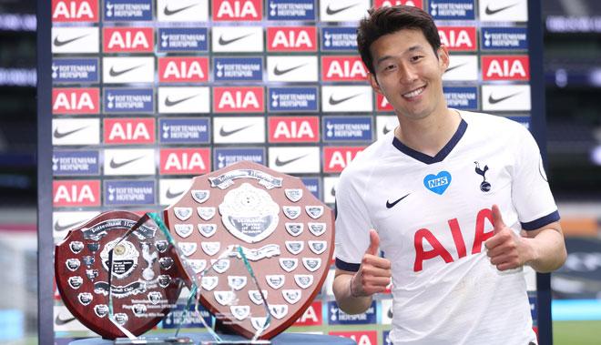 Son Heung Min lại khiến châu Á tự hào, thống trị giải thưởng ở Tottenham - 1
