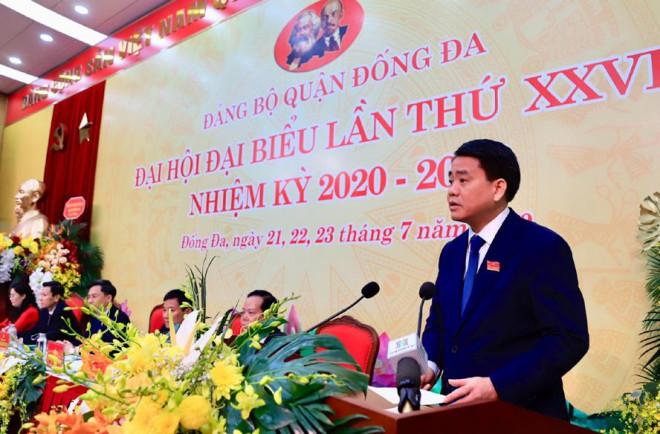 """Chủ tịch Hà Nội Nguyễn Đức Chung: """"Cần đề cao trách nhiệm nêu gương của cán bộ"""" - 1"""