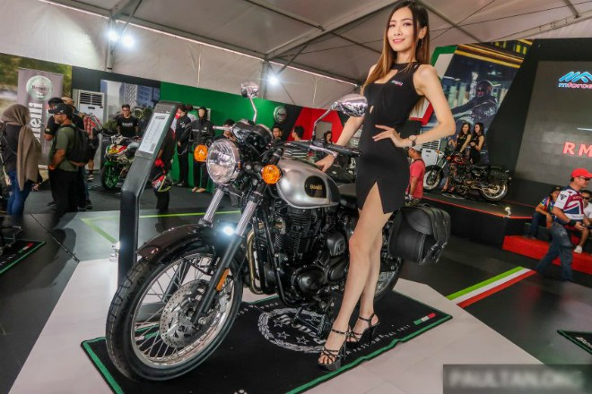 Ngắm xế cổ điển 2020 Benelli Imperiale 400i giá 86 triệu đồng - 1