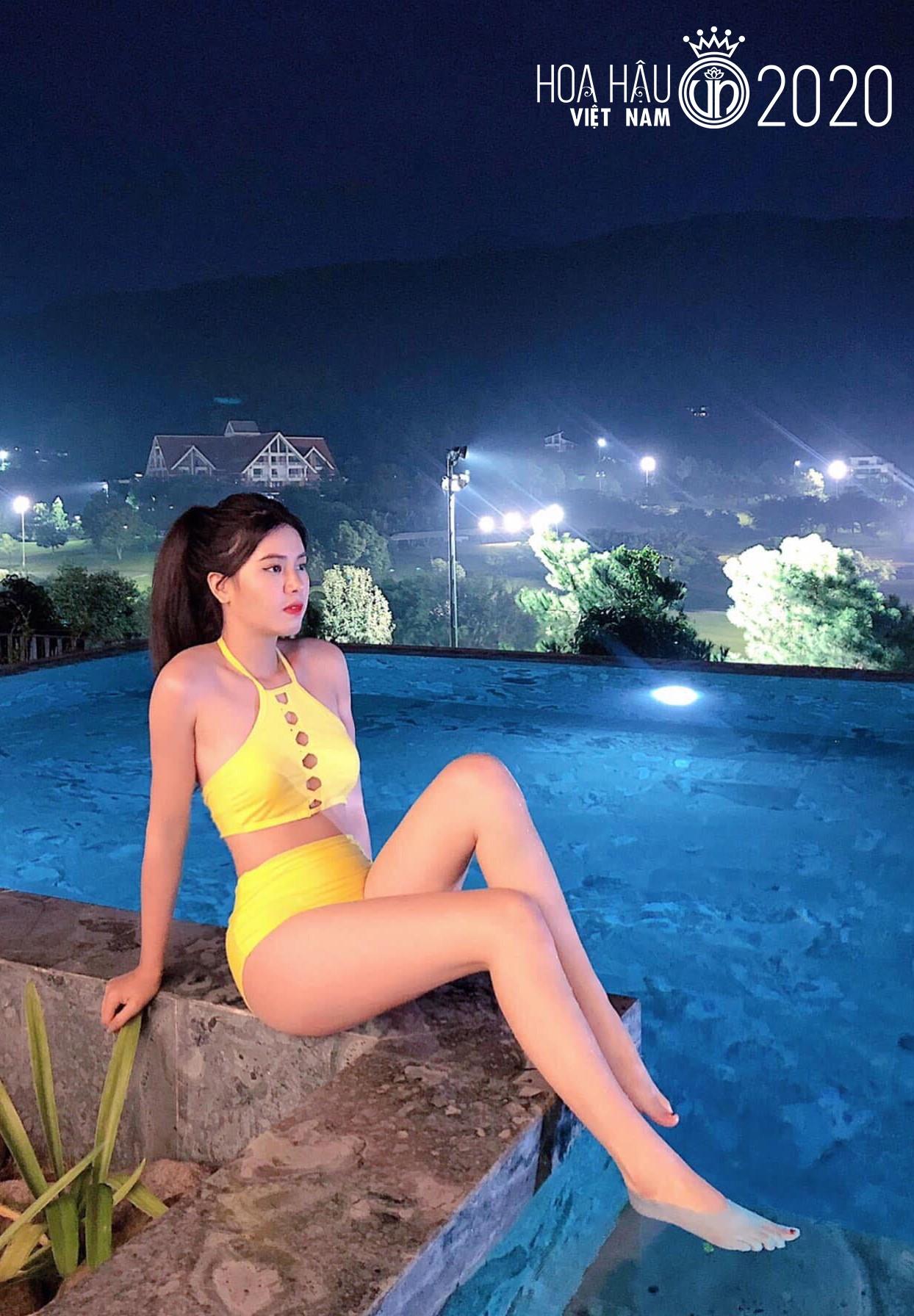 Nữ sinh Tuyên Quang thi hoa hậu, gây mê vì đôi chân dài thẳng tắp - 1