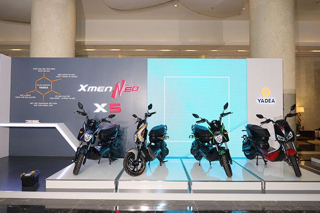 Ra mắt xe máy điện YADEA Xmen Neo và X5 giá từ 16,6 triệu đồng - 1