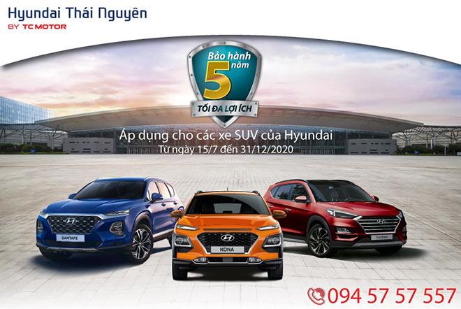Hyundai Thái Nguyên - Bảo hành 5 năm, tối đa tiện ích - 1