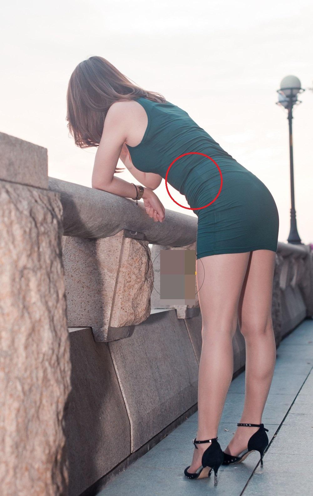 Mặc váy tôn đường cong không khéo, phái đẹp bị tố cáo người dáng hình vuông - 3