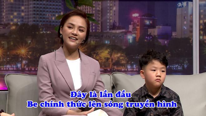 Thu Quỳnh bật khóc nức nở trong lần đầu cùng con trai xuất hiện trên truyền hình - 1