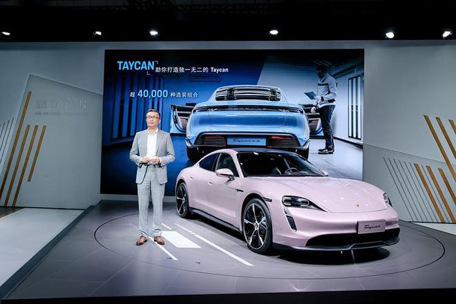 Chiêm ngưỡng Porsche Taycan trong bộ bánh ngọt ngào Frozen Berry Metallic - 5