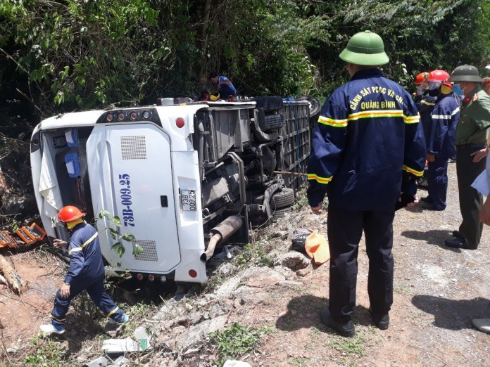 Khởi tố vụ tai nạn khiến 15 người tử vong ở Quảng Bình - 1