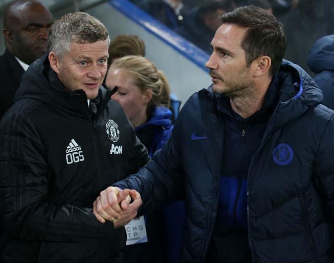 """MU - Chelsea giành vé Cúp C1: Solskjaer - Lampard mùa qua ai """"ngon"""" hơn? - 1"""