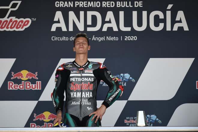 """Đua xe MotoGP: Cú đúp cho tài năng trẻ Quartararo dưới """"chảo lửa"""" Jerez - 1"""