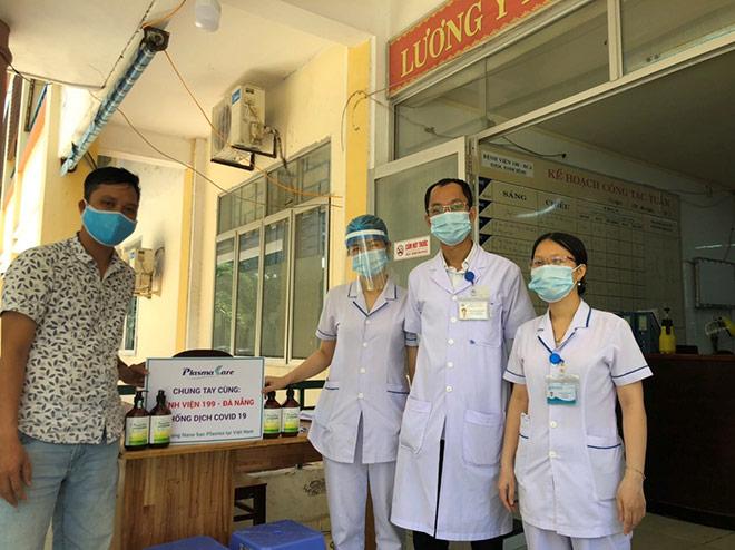 Cùng Đà Nẵng đẩy lùi Covid -19, doanh nghiệp Dược Việt Nam kịp thời tặng 5000 rửa tay khô Plasma bạc - 1
