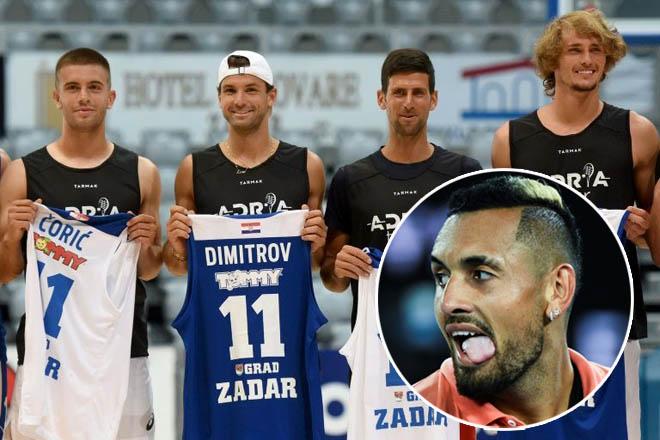 """Kyrgios chửi cả làng tennis vì Covid: Djokovic, Zverev và ai """"dính đòn""""? - 1"""