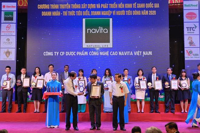 NAVITA - Top 10 Thương hiệu Vàng Việt Nam năm 2020 - 1