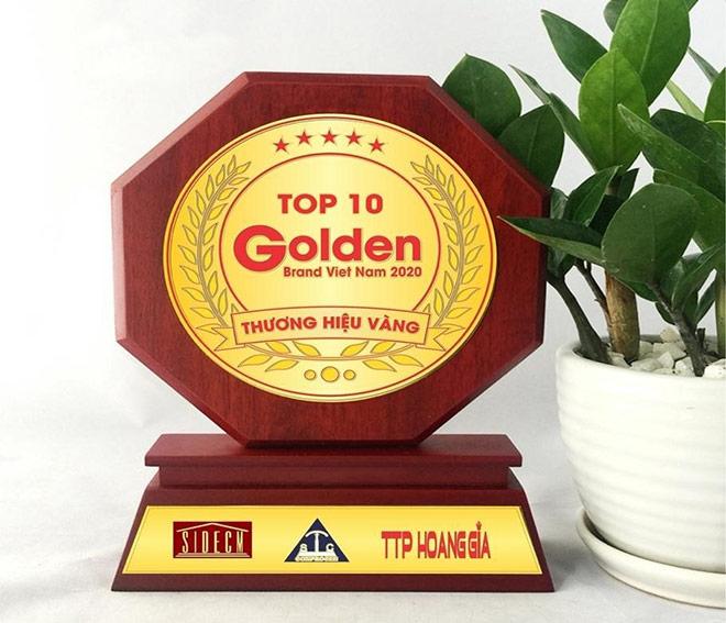 NAVITA - Top 10 Thương hiệu Vàng Việt Nam năm 2020 - 3