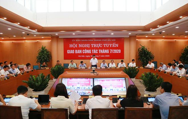 Chủ tịch Nguyễn Đức Chung xác nhận ca nghi dương tính COVID-19 tại Hà Nội - 1