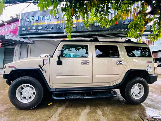 Xe SUV cỡ lớn Hummer H2 đời sâu rao bán giác bạc tỷ - 1
