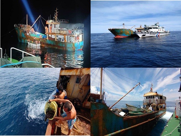 Đài Loan bắt giữ tàu cá Trung Quốc với 18 thành viên thủy thủ đoàn - 1