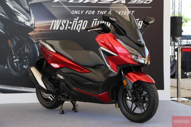 Đánh giá xe ga hoàn toàn mới Honda Forza 350 giá 128 triệu đồng - 1