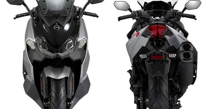 Xe tay ga MAXSYM TL 500 ghi điểm động cơ mạnh mẽ, giá lại rẻ - 1