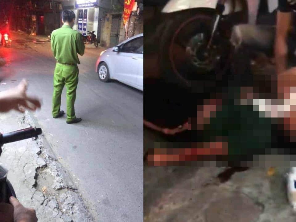 Cô gái trẻ bị bạn trai điên cuồng xả dao giữa phố Hà Nội - 1
