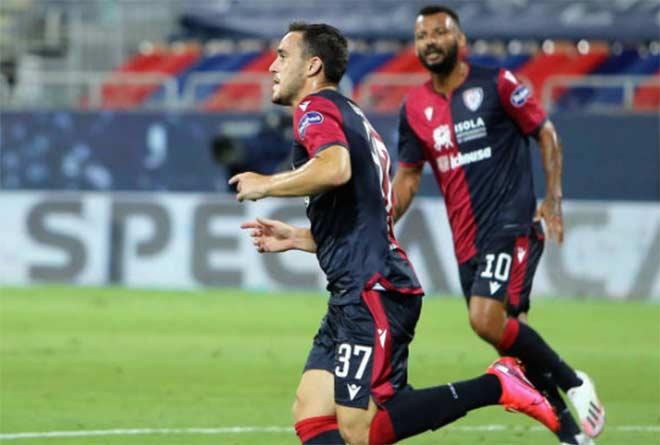"Video highlight trận Cagliari - Juventus: ""Nhà vua"" ê mặt, Ronaldo bực bội - 1"