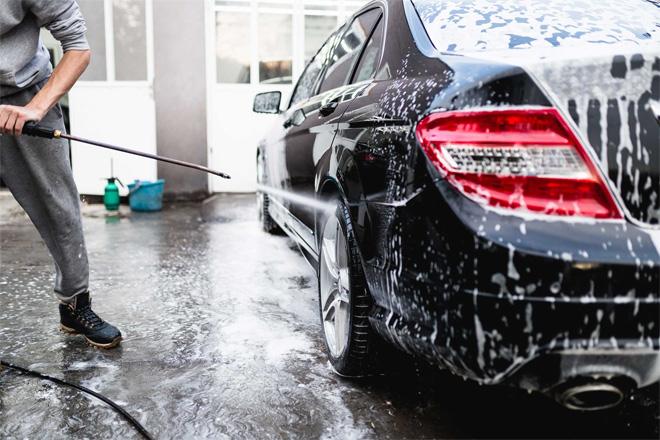"""Kinh doanh mở tiệm rửa xe ô tô, xe máy """"1 vốn 9 lời"""" - 1"""