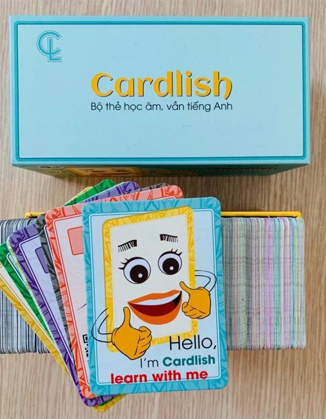Thẻ học tiếng Anh Cardlish – Nâng cấp khả năng đọc nói tiếng Anh chuẩn bản địa - 1
