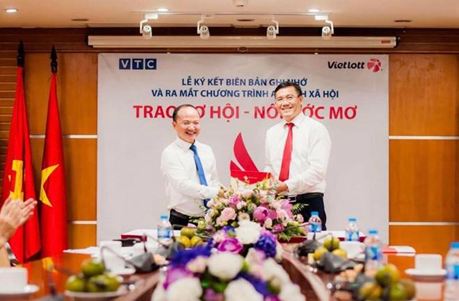 """Vietlott hợp tác VTC thực hiện chương trình ASXH """"Trao cơ hội, nối ước mơ"""" - 1"""
